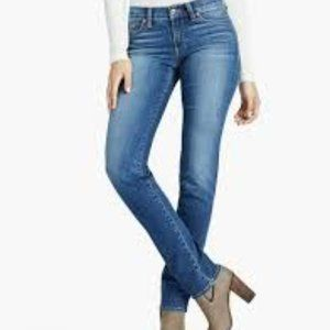 Lucky Brand Sweet N Straight Faded Jeans